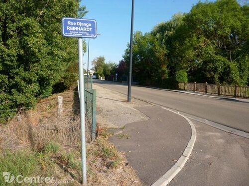 Rue Django Reinhardt à Auxerre