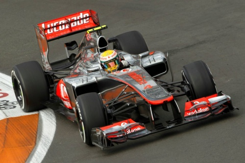 GP Europe : Qualifications - Hamilton 2°, Button 9°