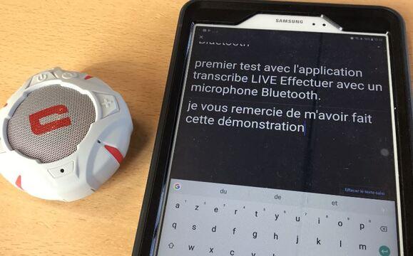 Live Transcribe (Android)  : convertir la parole en texte pour personnes sourdes et malentendantes