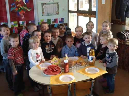 Hugo a fêté son anniversaire à l'école