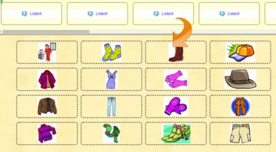 Réviser les vêtements en anglais.
