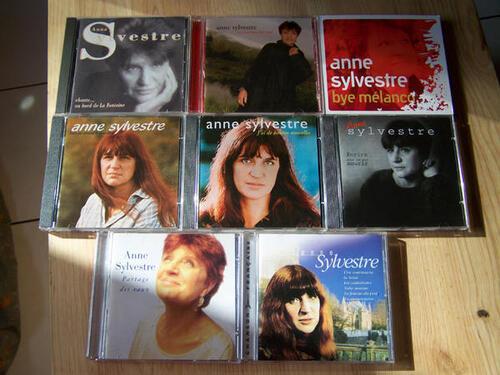 Les albums d'Anne Sylvestre