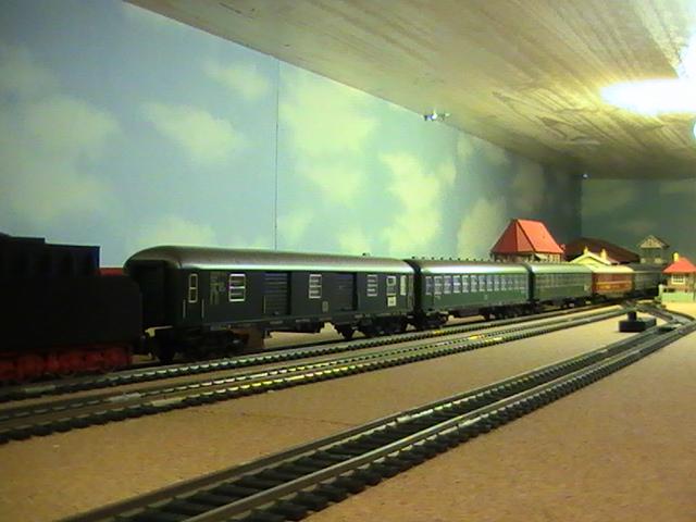 Réseau Moulinsard II - Session Fleischmann - Mes trains de voyageurs.