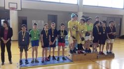 Championnats d'académie de tennis de table du 28 mars à Labastide Saint Pierre.