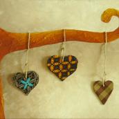 Série Cœurs suspendus