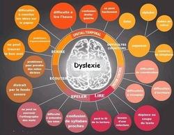 Troubles dys: cartes conceptuelles