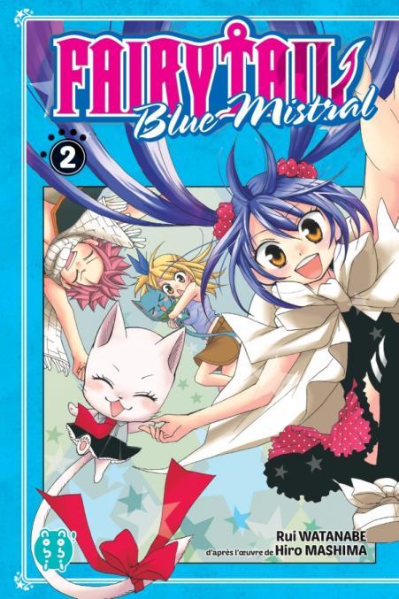 Fairy tail : blue mistral - Tome 02 - Rui Watanabe & Hiro Mashima