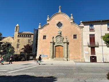 VIC - Hopital et église de la Santa Creu