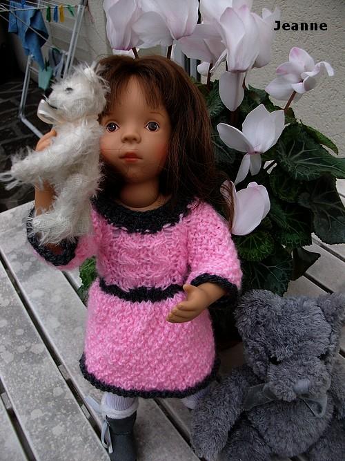 ...En rose et gris.... Jeanne !