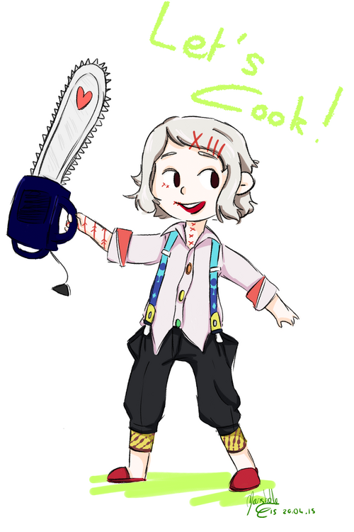 Juuzou Fan Art et cadeau à Mesu ^^