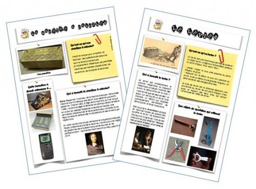 Cartes inventions et découvertes