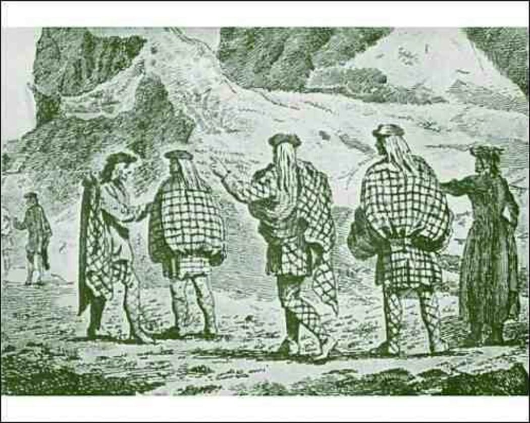 How Highlanders Came to Wear Kilts.