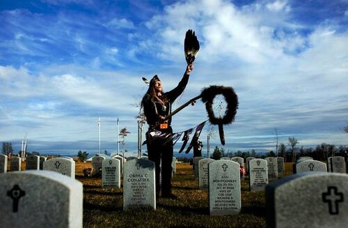 Native American Veterans and Native Canadian Veterans