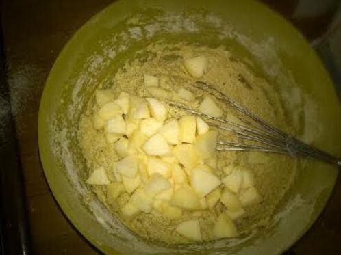 Cake aux pommes à la farine de châtaigne {sans gluten}
