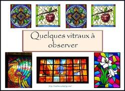 arts visuels: les vitraux