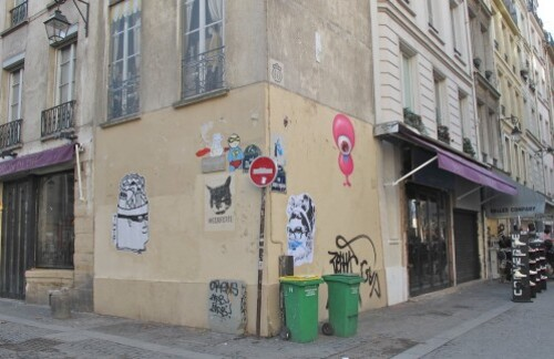 street-art Beaubourg Quincampoix 9
