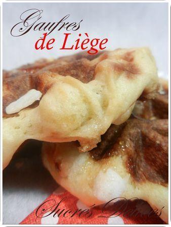 Les Gaufres de Liège...