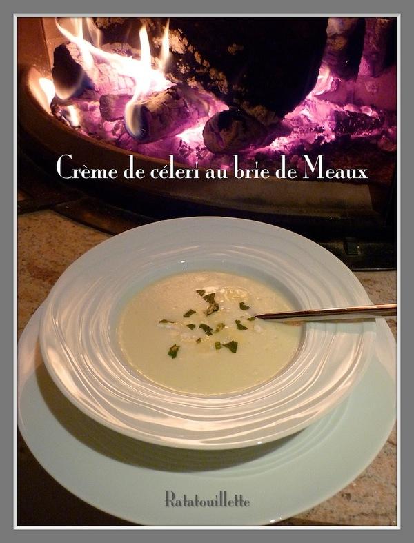 Velouté de céleri rave au Brie de Meaux