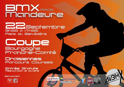 2ème manche de la Coupe Bourgogne - Franche-Comté de BMX 2019 – MANDEURE le 22 septembre 2019 - Guide de compétition
