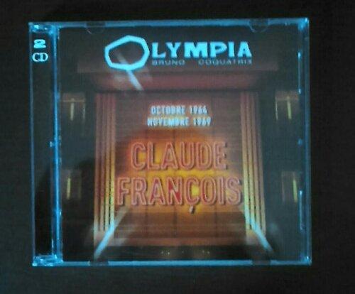 Claude François Olympia Octobre 1964 / Olympia Novembre 1969 mon nouveau cd et les photos fait par moi