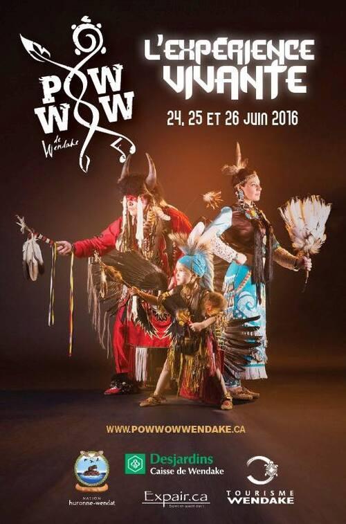 programme Pow Wow de Wendake 2016