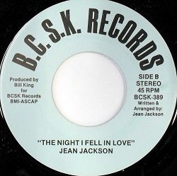 Jean Jackson - The Night I Fell In Love