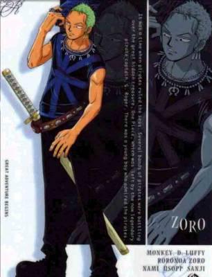 Le bretteur: Zorro Roronoa