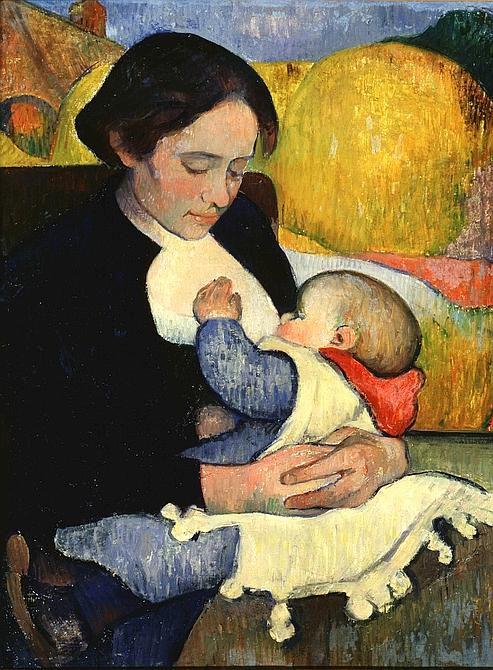Mardi - Le nourrisson dans l'art (2)