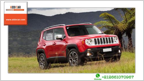 Location de voiture SUV à Casablanca – Promotion en location Jeep Renegade Limited