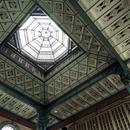 La verrière du dôme dans la grande salle (3)