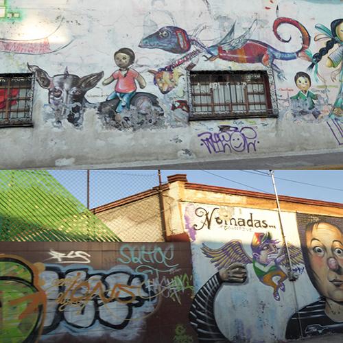 MEXICO DF : DE MUR EN MUR MURS MURS - 1