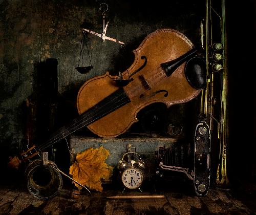 fond violon