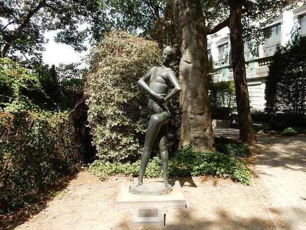 Mini jardin de sculpture