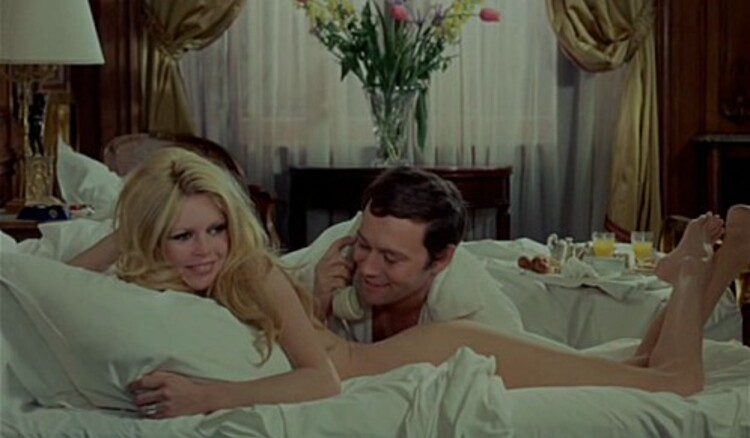 BRIGITTE BARDOT - MAURICE RONET -JEAN PIERRE MARIELLE - LES FEMMES- 1969