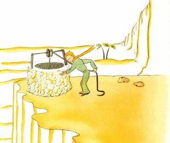 Un puits dans le désert