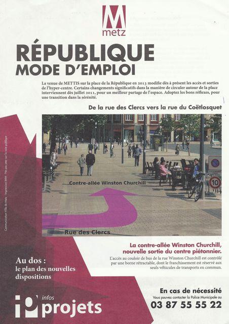 République n'est plus royale (16 juillet 2011)
