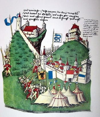 Bataille d'Arbedo (Chronique de Tschachtlan)