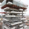 bosco verticale_chantier