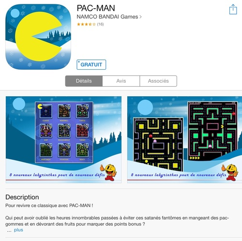 [appli gratuite] Pac-Man
