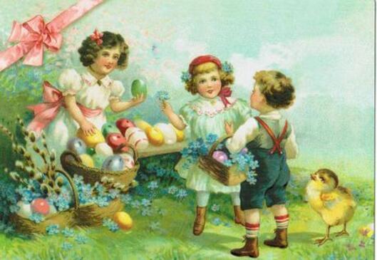 Pâques d'hier et d'aujourd'hui.....