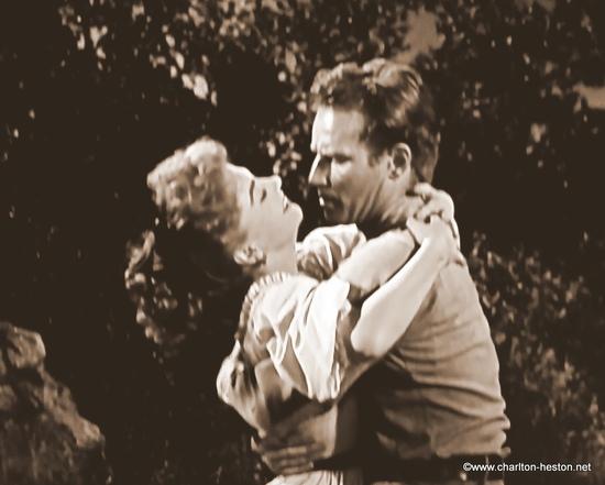 TERRE SANS PARDON (1954) photos en sépia - 3