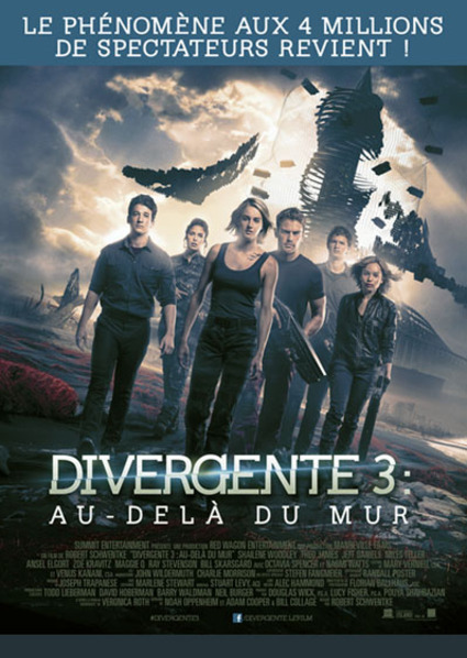 BOX OFFICE FRANCE DU 9 MARS 2016 AU 15 MARS 2016