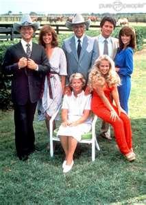 Les relations entre Val,Gary et la famille Ewing.