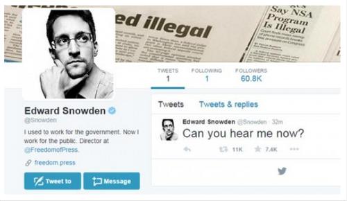 Edward Snowden, un défenseur de la démocratie