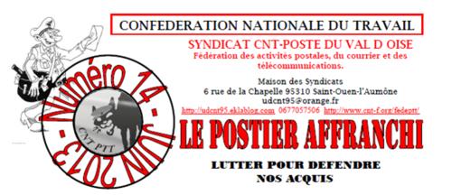 Le Postier Affranchi 14 - juin 2013