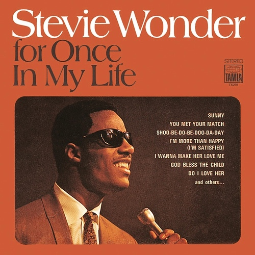 """Stevie Wonder : Album """" For Once In My Life """" Tamla Records TS 291 [ US ]"""