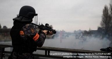 Violence extrême contre les Jaunes, la bourgeoisie a peur ...