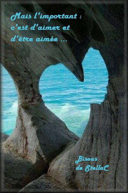 l'important aimer et être aimer