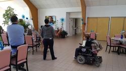 Témoignage au Foyer Logement Les Camelias à Ambillou-Château 4/10/18