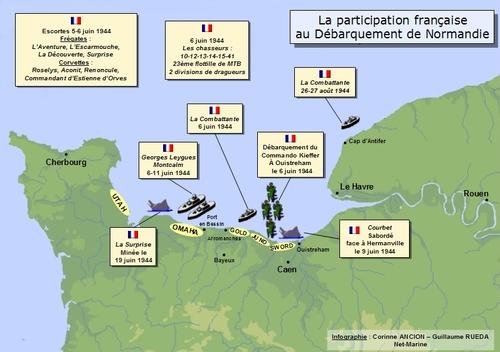 """* 6 Juin 1944 -   """"Le jour est long, le jour est long..."""" . Regard sur les Français Libres  du D-Day"""